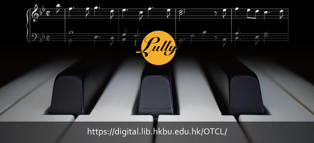 Lully Keyboard Arrangements