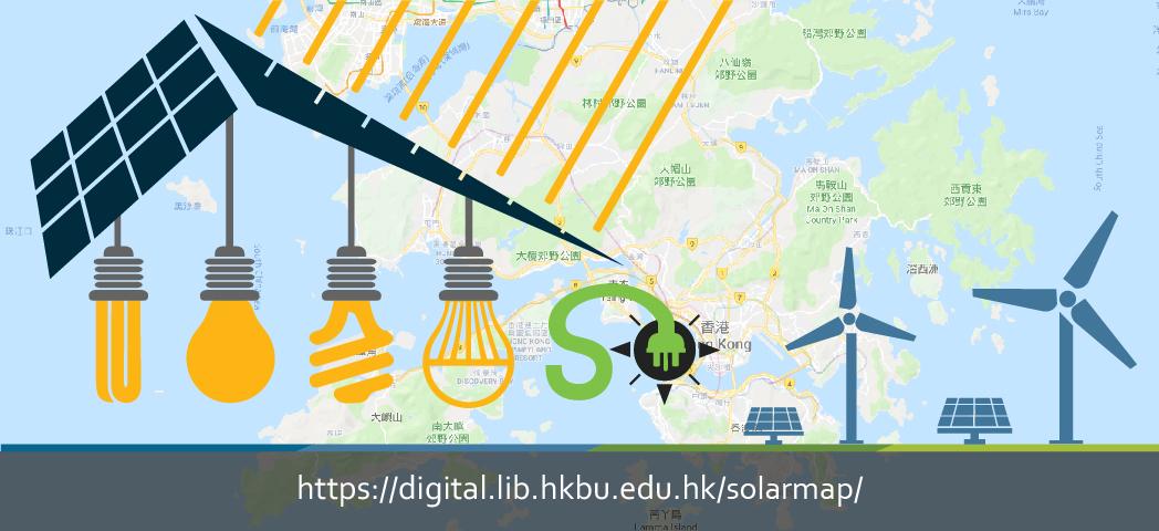 Hong Kong Solar Map
