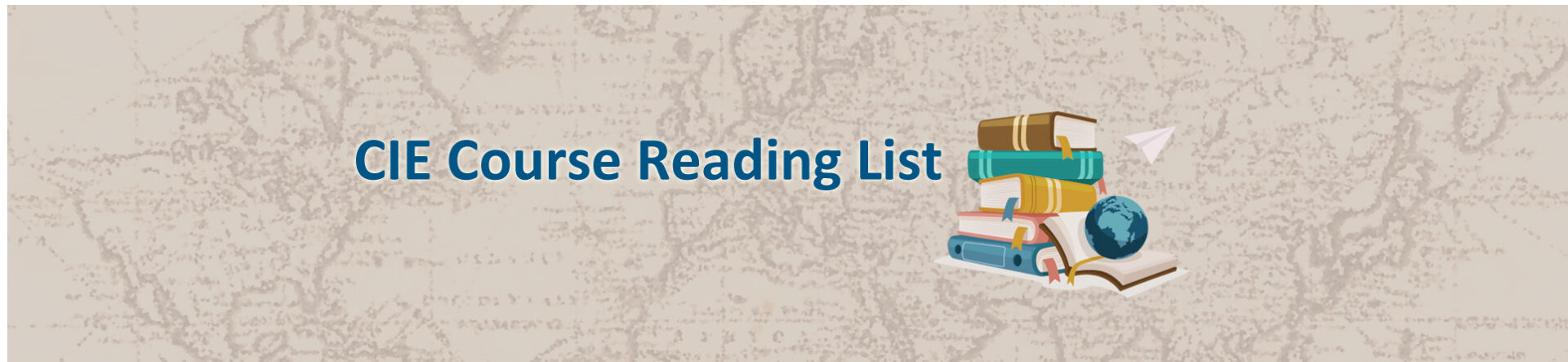 CIE Course Reading List
