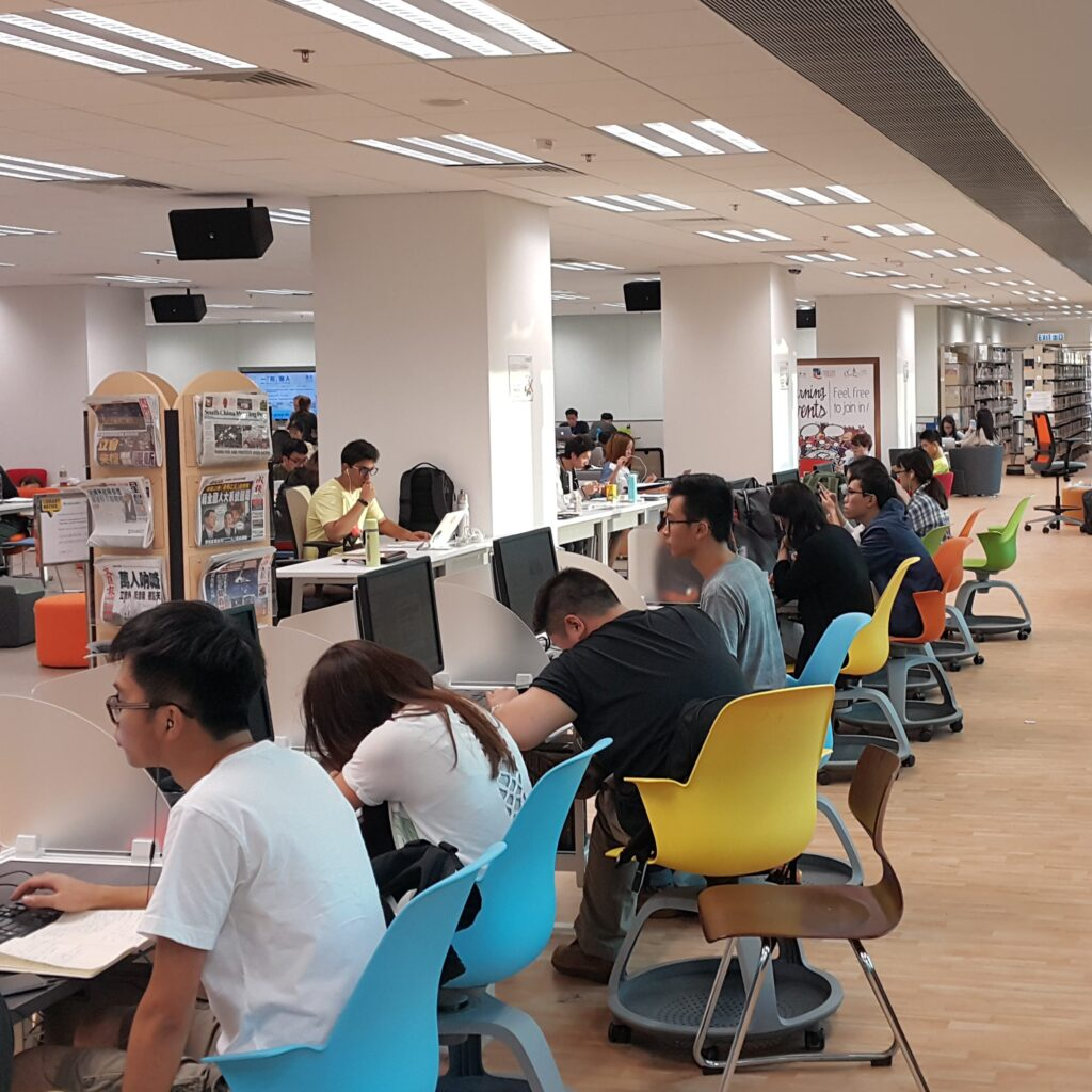 Image of the Library Academic Commons