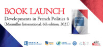 Book Culture Club 44th Round   Book Launch : Developments in French Politics 6 (Macmillan International, 6th edition, 2021)