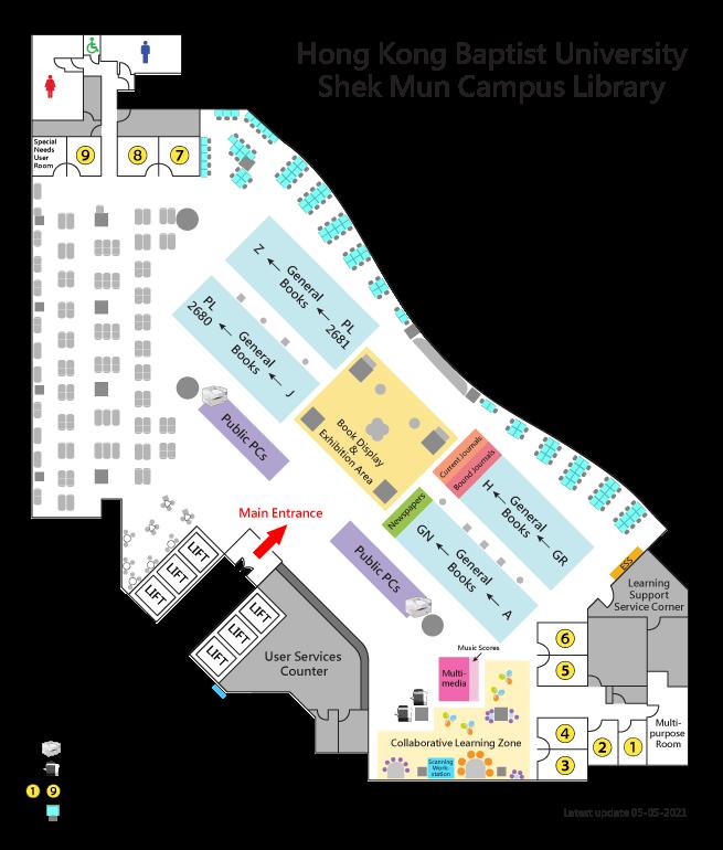SMCL Floor Plan
