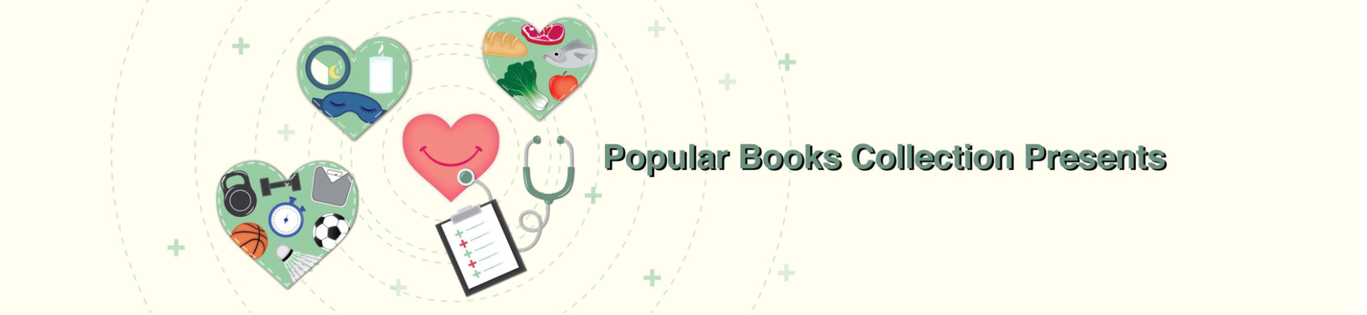 Popular Books Collection - Healthy Lifestyle