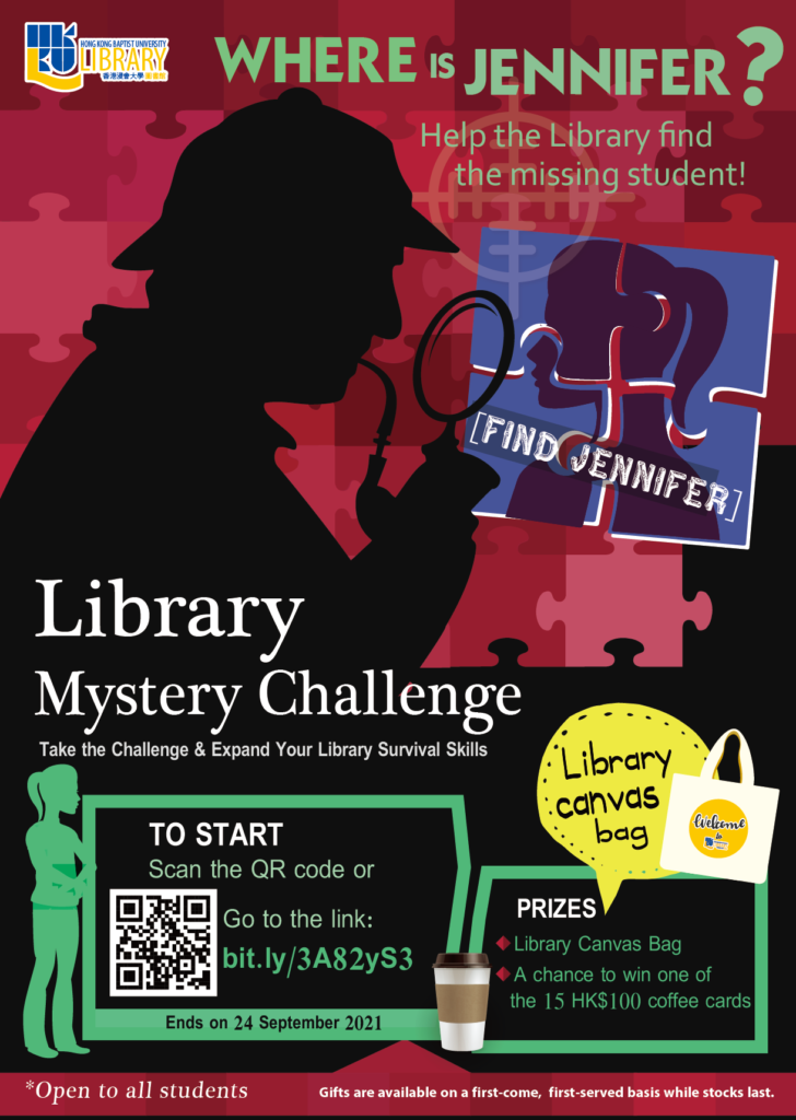 Library Mystery Challenge 2021