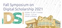 Fall Symposium on Digital Scholarship 2021 @HKBU